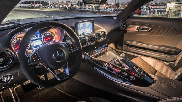 AMG GT interior