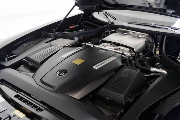 Brabus AMG GT S Engine