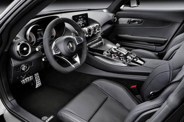 AMG GT S interior