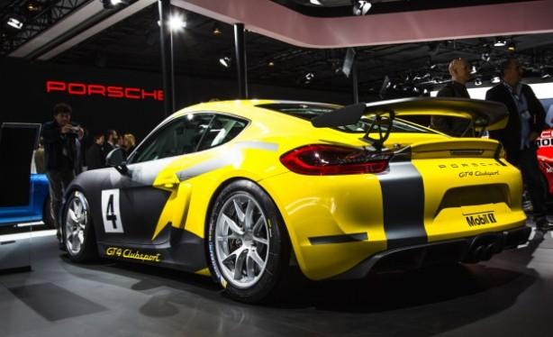 Porsche Cayman GT4 Clubsport rear