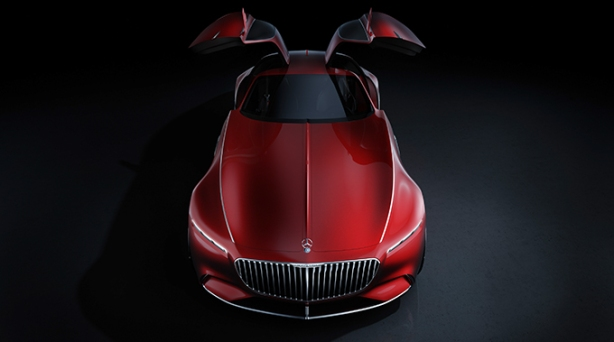 Mercedes Benz Vision 6 Gullwings