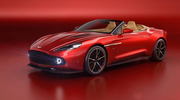 Aston Martin Zagato Vanquish Volante