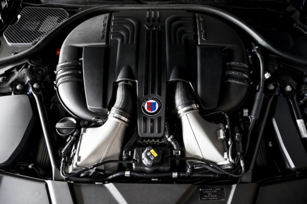 2017 7 series Alpina Engine