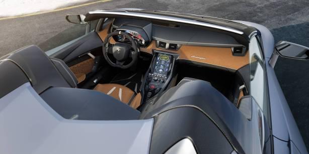 Lamborghini Centenario Roadster interior