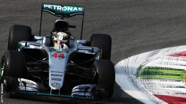 Hamilton 44 Italian GP