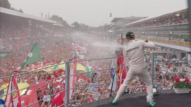 Rosberg win
